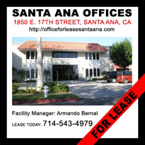 Search For Office Property For Lease in Santa Ana